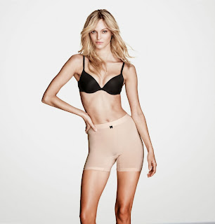 Lingerie Photoshoot,: Theres Alexandersson Hot Photoshoot for H&M Lingerie & Swimwear December 2013