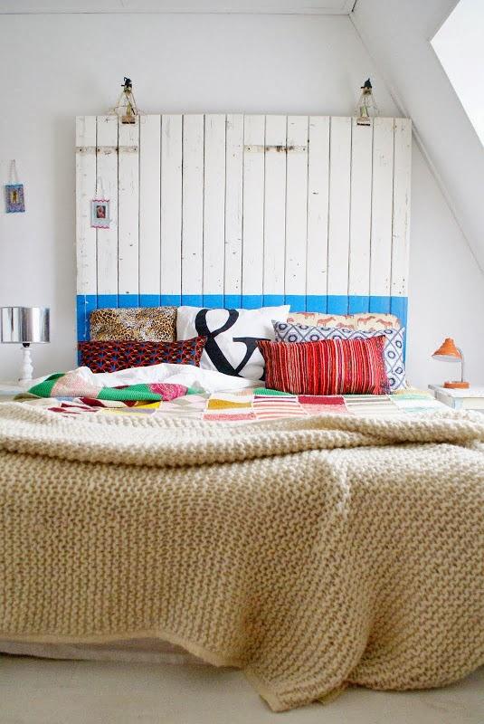 En mi espacio vital muebles recuperados y decoraci n vintage decoraci n de reciclaje - Reciclaje de pales ...