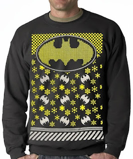 Purchase your Ugly Batman Christmas Sweater at Amazon here!
