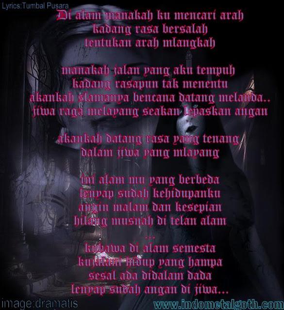 Lyrics Lagu Tumbal Pusara - Belenggu Gothic Metal