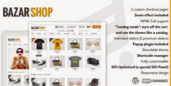 Free Download Bazar Shop V2.6.0 Multi-Purpose e-Commerce WordPress Theme