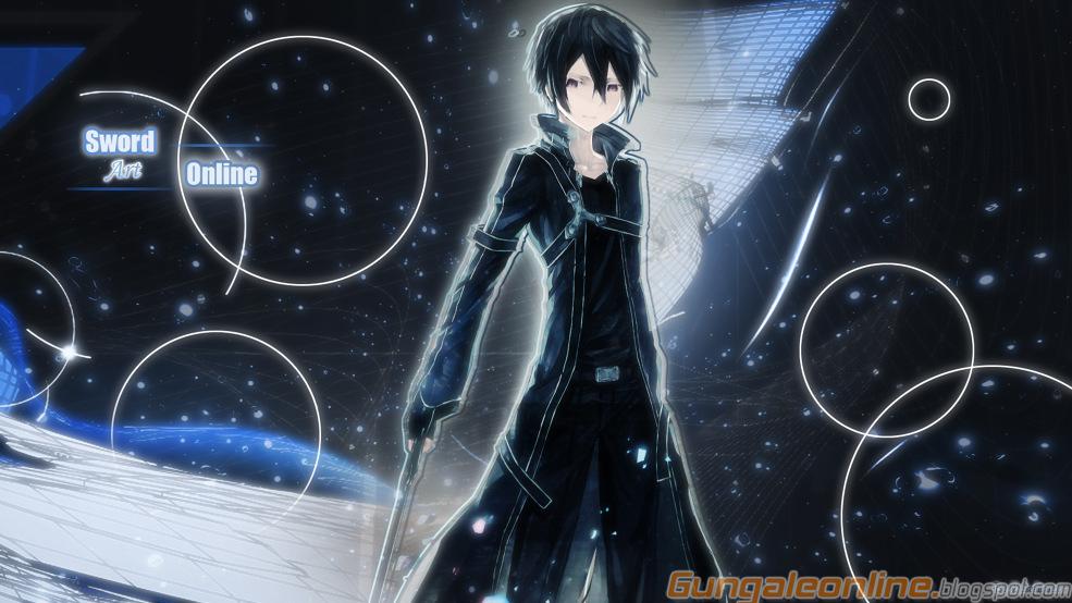 Kirito Smartphone Wallpapers Gun Gale Online Anime Mobile