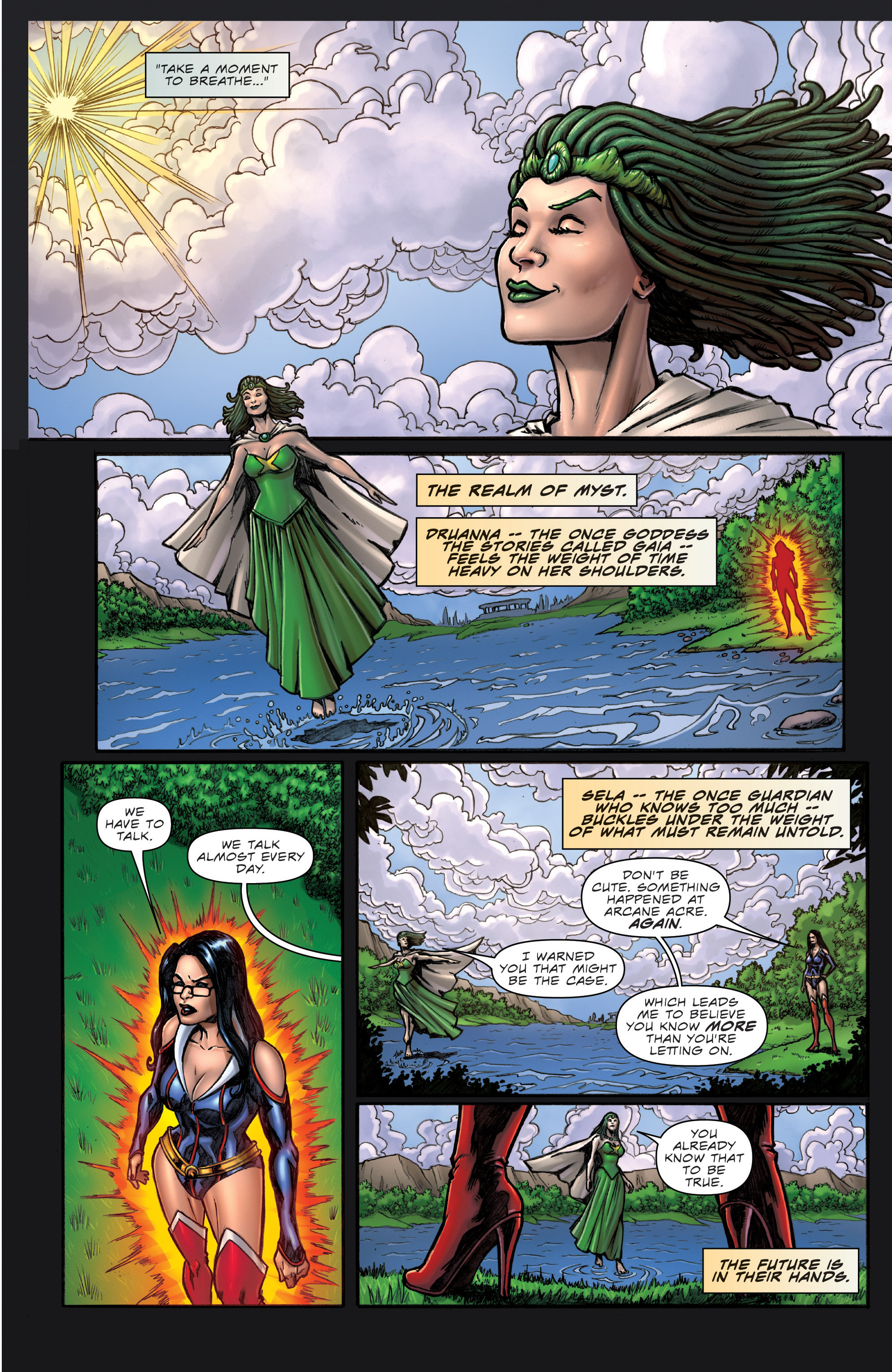 Grimm Fairy Tales (2005) Issue #106 #109 - English 9