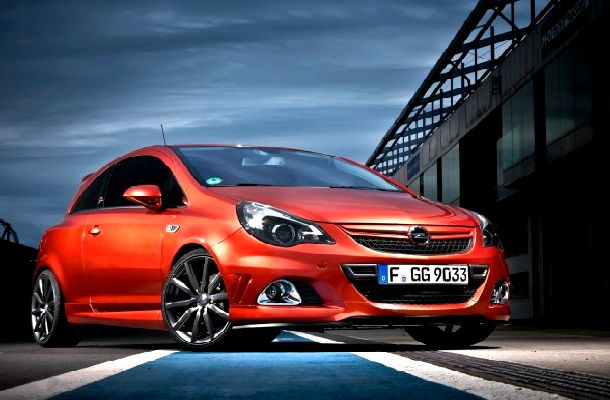 sports car opel corsa opc nurburgring edition. Black Bedroom Furniture Sets. Home Design Ideas