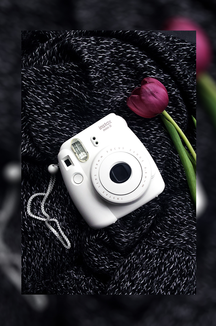 Fashion Attacks new buy Instax Mini 8 polaroid camera