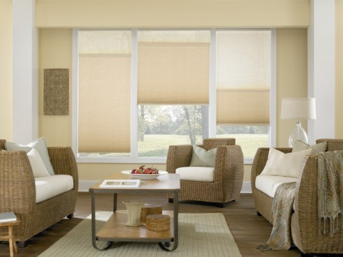 Tirai atau gorden merupakan salah satu hiasan yang sanggup kita tambahkan ke  Memilih Tirai Jendela Rumah Minimalis