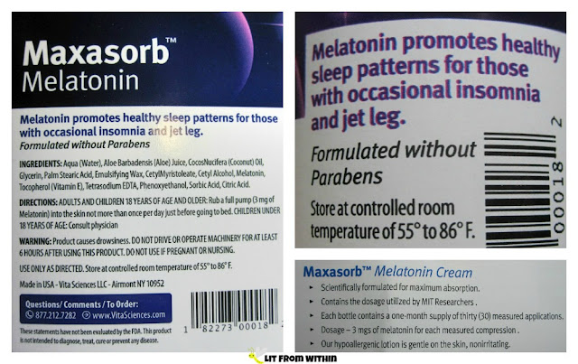 Vita Sciences Maxasorb Melatonin