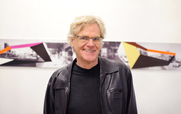 Portrait of Artist Richard Dunn at SNO 74