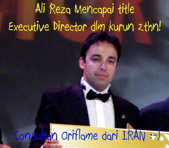 Siapa Bilang Oriflame bisnisnya Wanita? Pria jg bisa sukses di bisnis ini!!Klik Gambar tuk Info