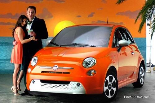 Fiat 500e EnvironmentallySexy
