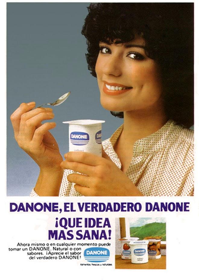 Danone Publicidad creativa de los años 80