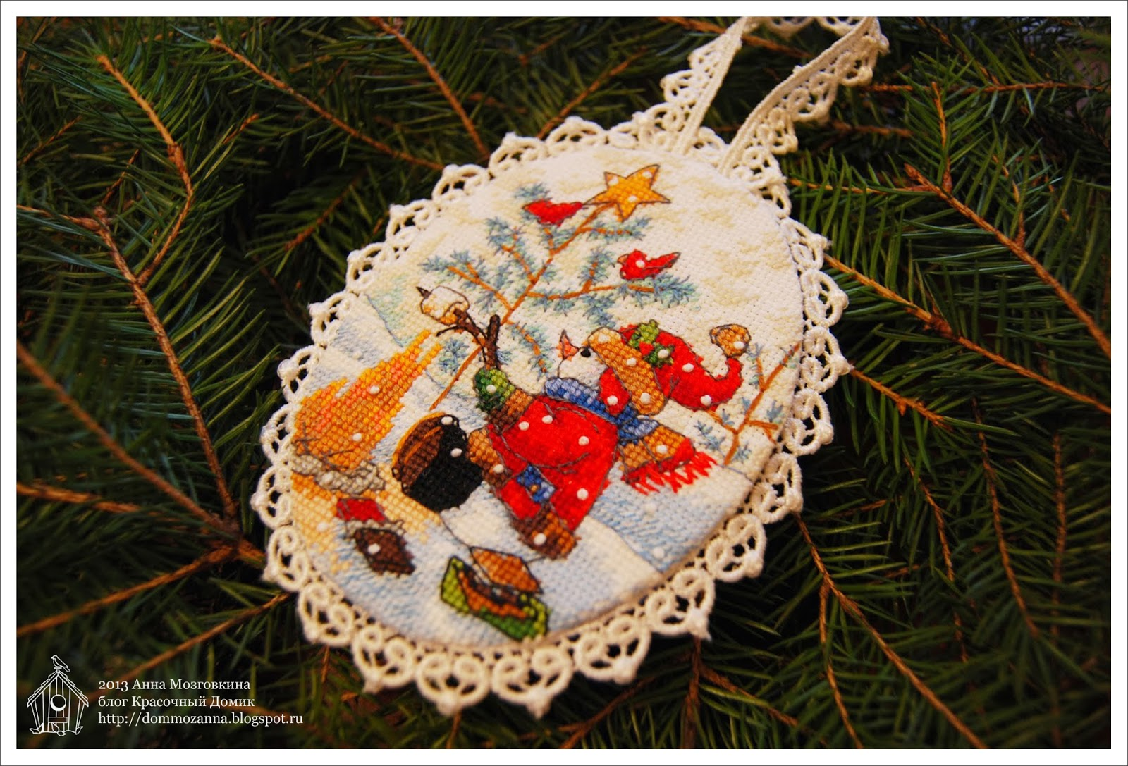 Playful Snowmen Ornaments