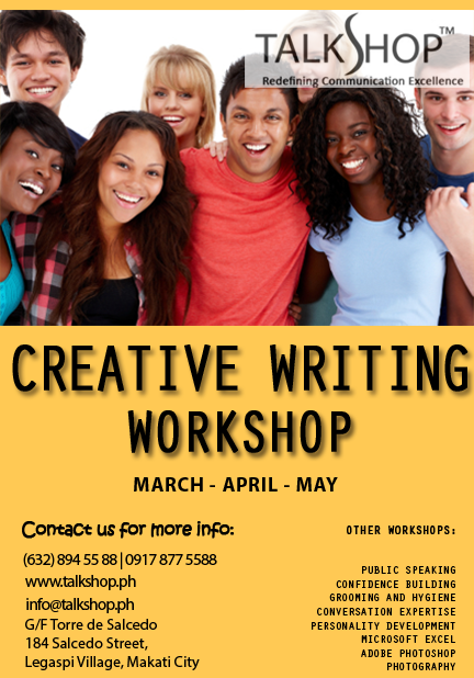 TalkShop's Creative Writing Workshop