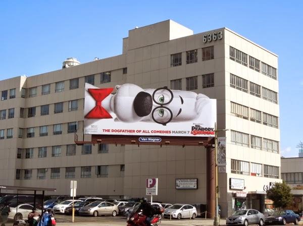 Peabody and Sherman movie billboard