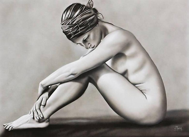 Juan Medina 1950 | Mexican Surreal Hyperrealist painter