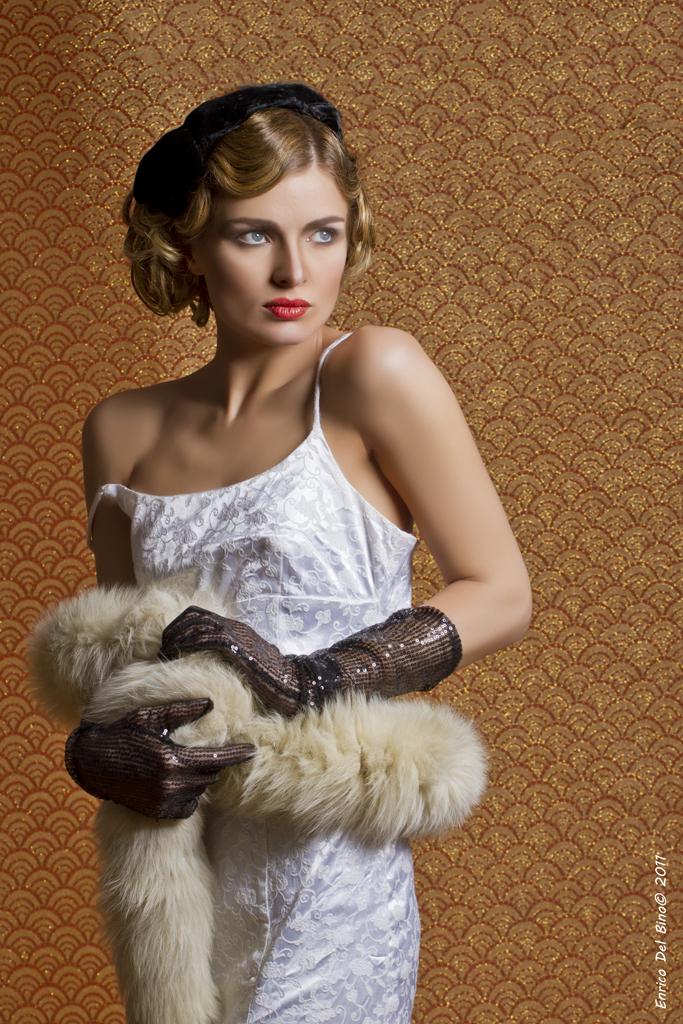 Enrico Del Bino: Tamara de Lempicka style