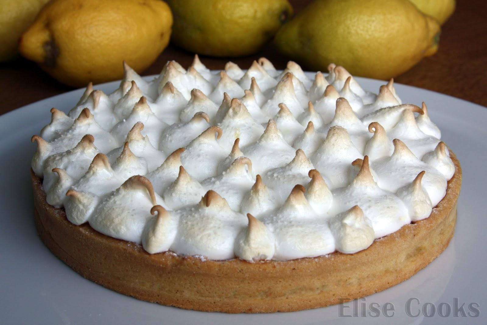 Tarte Au Citron Meringuee Facon Pierre Herme Elise Cooks