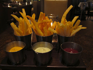 Bourbon Steak Trio of Fries
