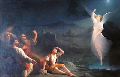wujud penampakan malaikat bidadari asli