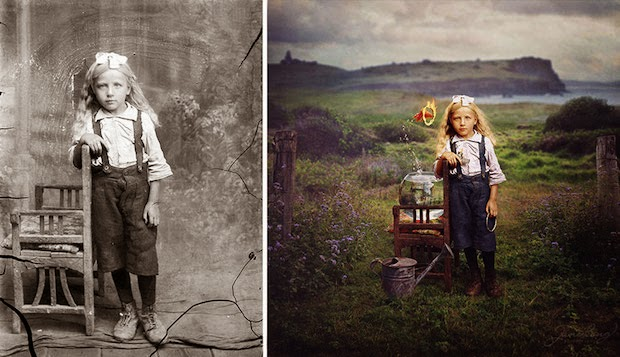 7 Unbelievable Old Black And White Photos Filled with Colors Manipulated