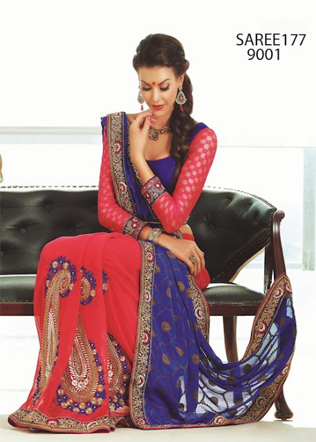 Latest Designer Wedding Saree Online Shopping