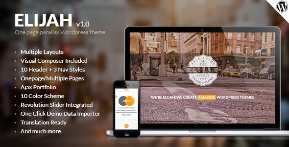 Multipurpose WordPress Landing Page Template 2015