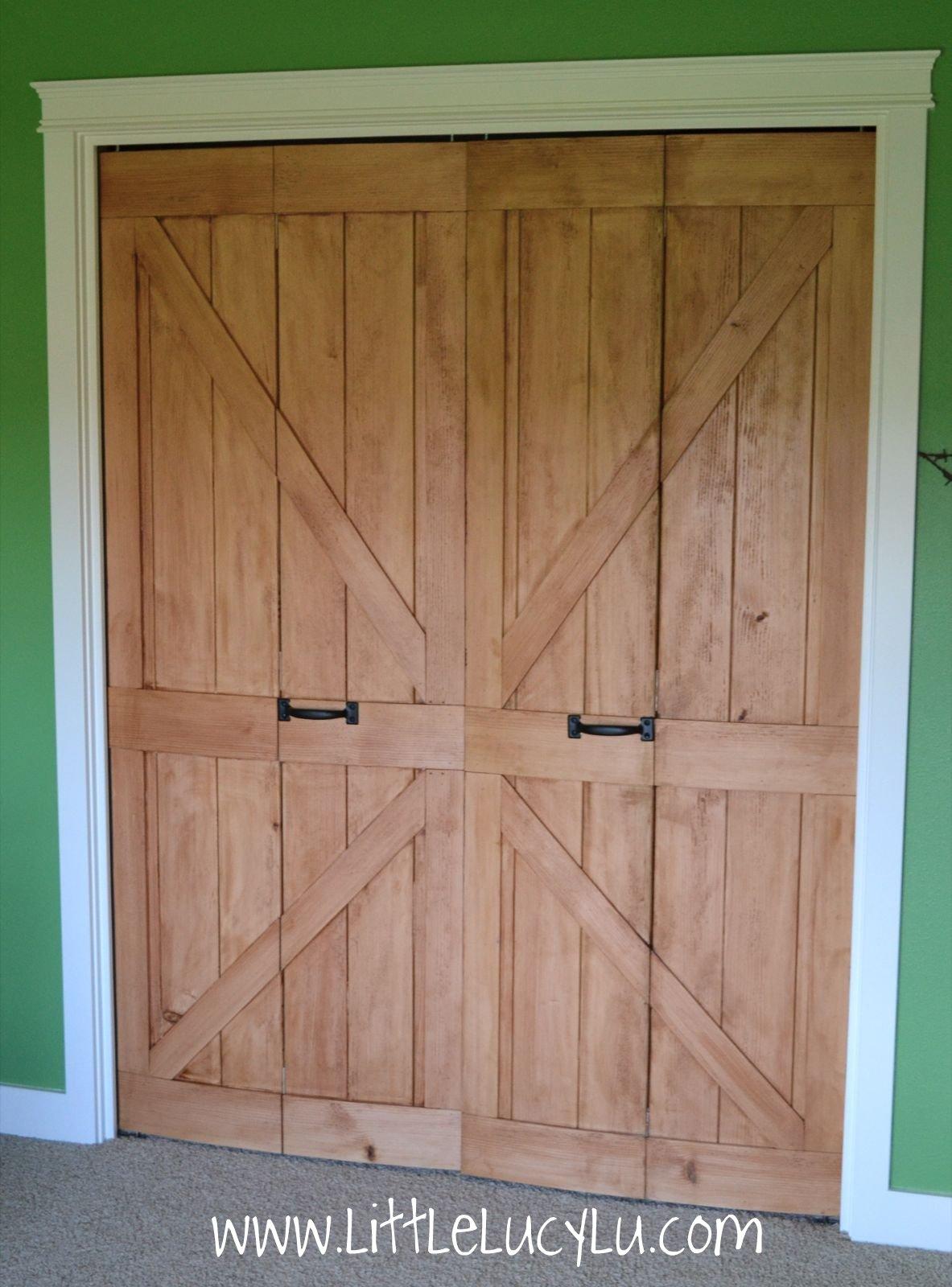 Little Lucy Lu: From Bi Fold To Barn Doors   Maxu0027s Closet!