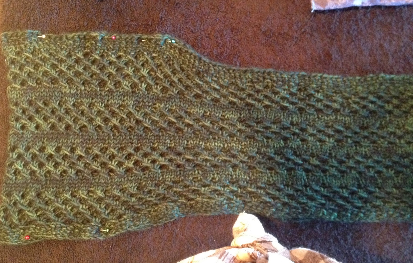 steam blocking knits