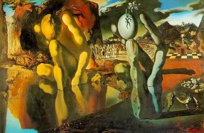 A metamorfose de Narciso- Salvador Dali