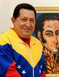 Compañero Hugo Chávez Frías.