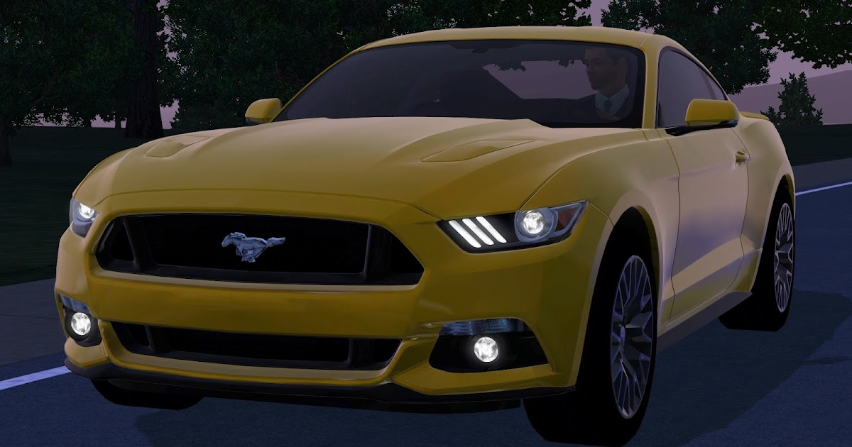 My Sims 3 Blog: 2015 Ford Mustang GT by Fresh-Prince