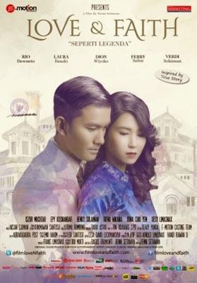 Film Love & Faith di Bioskop Borobudur Cinema Pekalongan