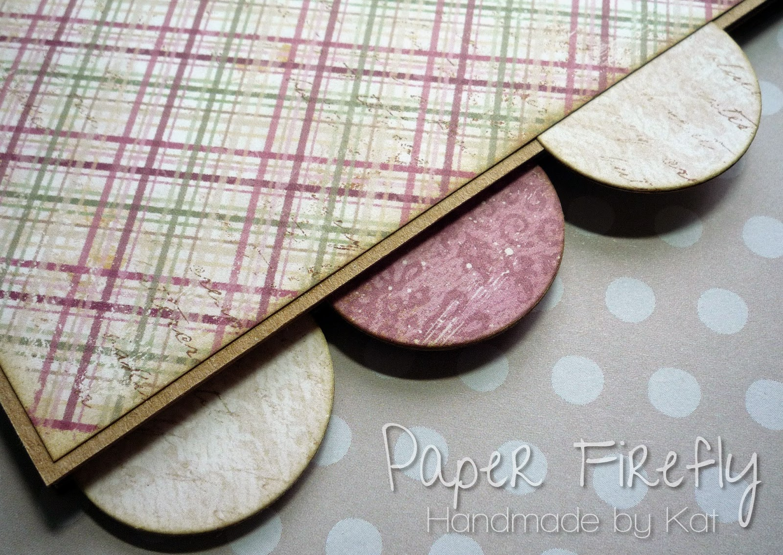 Close up of divider tabs from hand crafted planner
