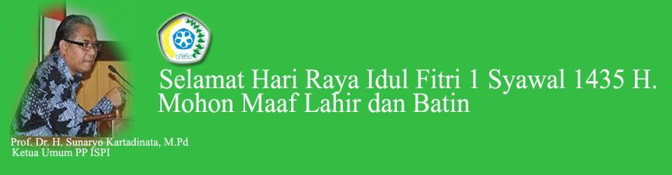 Selamat Hari Raya Idul Fitri 1 Syawal 1435 Hijriyah