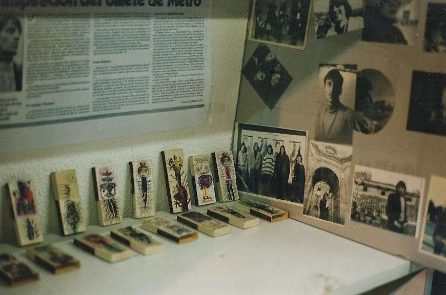 cajas cerillas para Amarneciendo