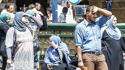 INTENSA OLA DE CALOR EN EGIPTO