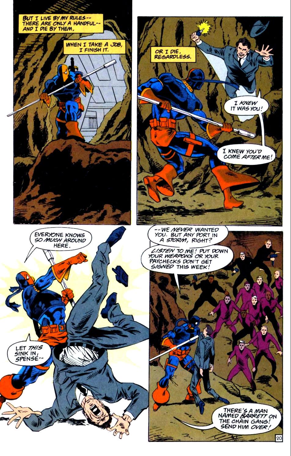 Deathstroke (1991) Issue #25 #30 - English 21