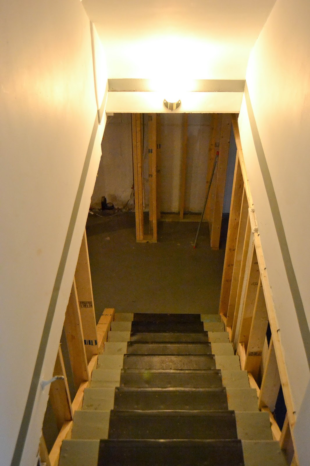 unfinished basement stairs old house basement remodel little and lovely