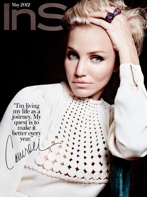 Cameron Diaz covers InStyle Magazine - May 2012 - barefoot duchess ...