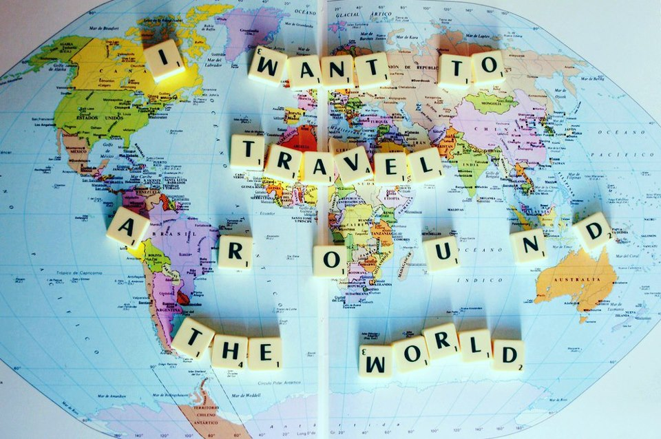 Want to travel around the world