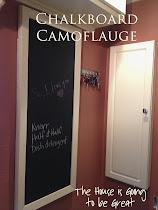 Chalkboard Camoflauge