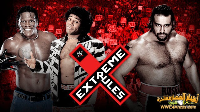 R-TRUTH & XAVIER WOODS VS. ALEXANDER RUSEV (2-ON-1 HANDICAP MATCH)