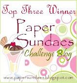Paper Sundae Top 3