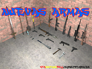 Hola A Todos  Hoy Les Traigo Un Pack De Armas Para GTA San Andreas