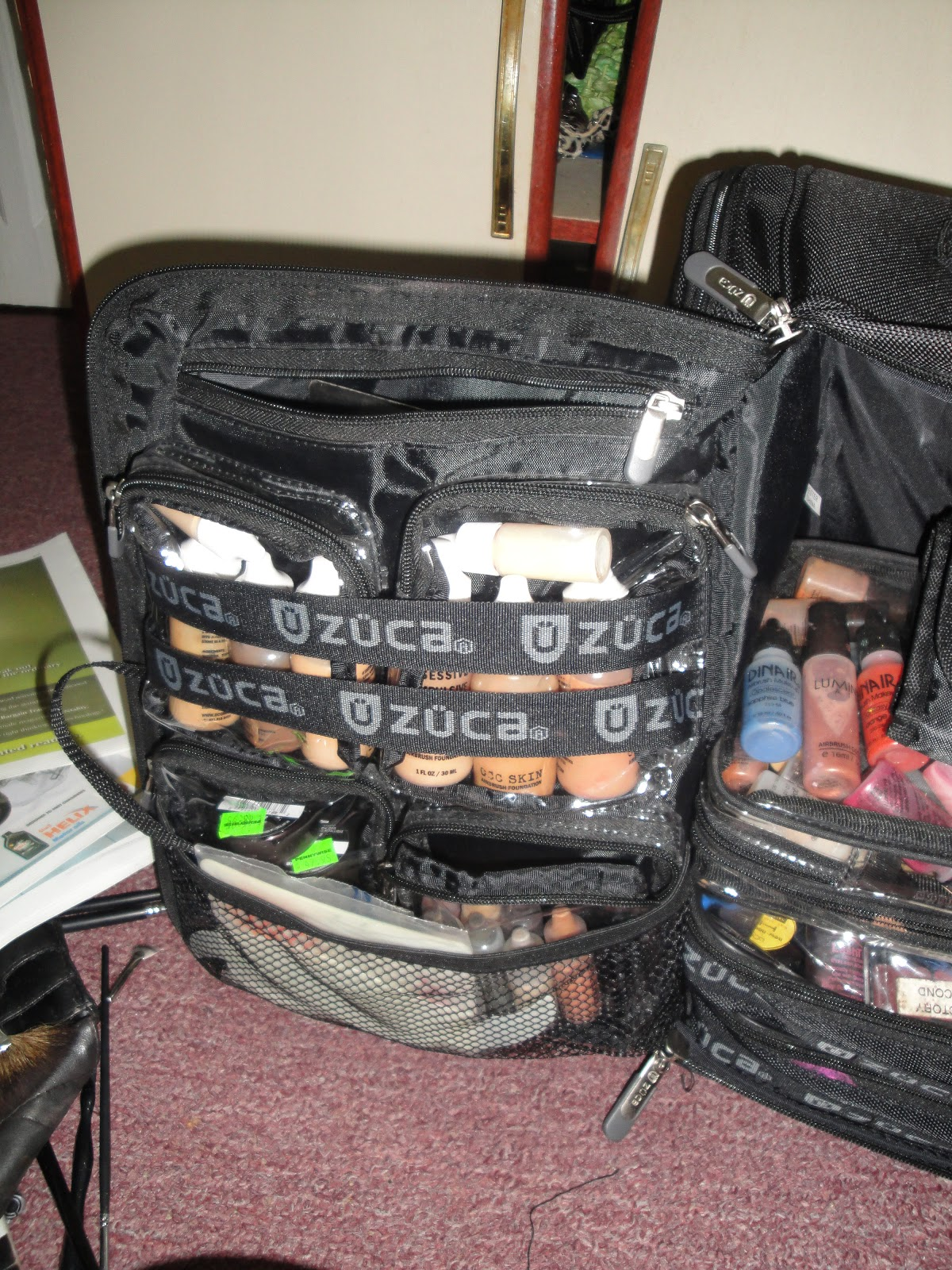... - Musings of a Makeup Artist: My New Zuca Makeup Case - Backpack Pro