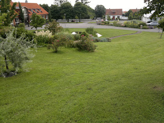 A nice park in the middle of the Kivik town.