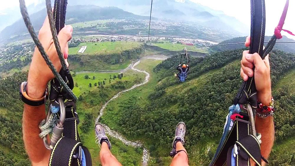 Tirolesa ZipFlyer-maior-tirolesa-do-mundo
