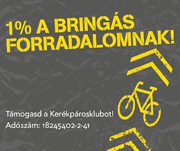 Támogasd adód 1%-ával a biciklis fejlődésért dolgozó Kerékpárosklubot!