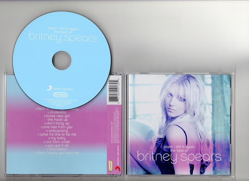 Britney spears oops i did it again the best of britney spears 2012