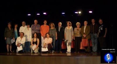 Premiats, finalistes i membres del jurat - Concurs de Rapsodes 2012